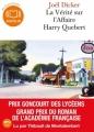 Couverture La vérité sur l'affaire Harry Québert Editions Audiolib 2013