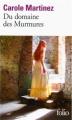 Couverture Du domaine des murmures Editions Folio  2013