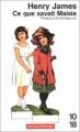 Couverture Ce que savait Maisie Editions 10/18 (Domaine étranger) 1980