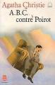 Couverture A.B.C. contre Poirot / ABC contre Poirot Editions Le Livre de Poche 1982