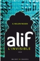 Couverture Alif L'invisible Editions 2013