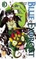 Couverture Blue Exorcist, tome 10 Editions Kazé (Shônen up !) 2013