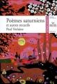 Couverture Poèmes saturniens Editions Hatier (Classiques & cie) 2007