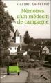 Couverture Mémoires d'un médecin de campagne Editions France Loisirs 2006
