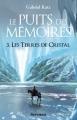 Couverture Le puits des mémoires, tome 3 : Les terres de cristal Editions Scrineo 2013