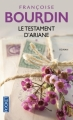 Couverture Ariane, tome 1 : Le Testament d'Ariane Editions Pocket 2013