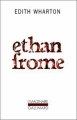 Couverture Ethan Frome Editions Gallimard  (L'imaginaire) 1984