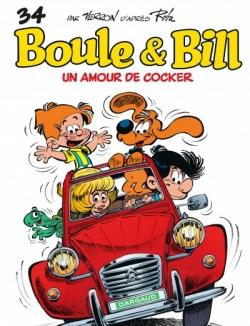 Couverture Boule & Bill, tome 34 : Un amour de cocker
