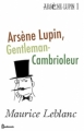 Couverture Arsène Lupin gentleman cambrioleur Editions Feedbooks 1907