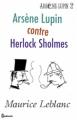 Couverture Arsène Lupin contre Herlock Sholmès Editions Feedbooks 2008