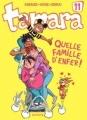 Couverture Tamara, tome 11 : Quelle famille d'enfer ! Editions Dupuis 2013