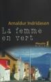 Couverture La femme en vert Editions Métailié (Noir) 2006