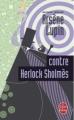 Couverture Arsène Lupin contre Herlock Sholmès Editions Le Livre de Poche 2009