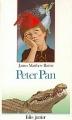 Couverture Peter Pan (roman) Editions Folio  (Junior) 1988