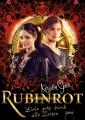 Couverture Trilogie des gemmes, tome 1 : Rouge rubis Editions Arena 2013