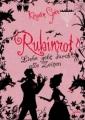 Couverture Trilogie des gemmes, tome 1 : Rouge rubis Editions Arena 2009