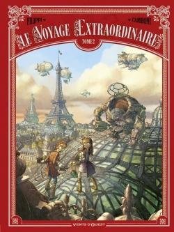 Couverture  Le voyage extraordinaire, cycle 1 : Le trophée Jules Verne, tome 2 de Denis-Pierre Filippi et Silvio Camboni