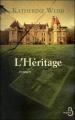 Couverture L'héritage Editions Belfond 2011