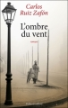 Couverture L'Ombre du vent Editions Robert Laffont 2012