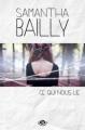 Couverture Ce qui nous lie Editions Milady (Grande Romance) 2013