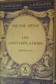 Couverture Les contemplations Editions Larousse 1949