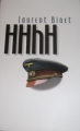 Couverture HHhH Editions France Loisirs 2011