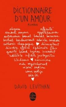 Couverture Dictionnaire d'un amour