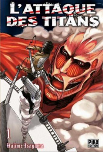 Couverture L'attaque des Titans, tome 01