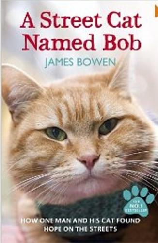 Couverture Un chat des rues nommé Bob