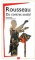 Couverture Du contrat social Editions Flammarion (GF) 2012