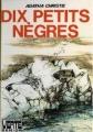 Couverture Dix petits nègres Editions Hachette (Bibliothèque verte) 1977