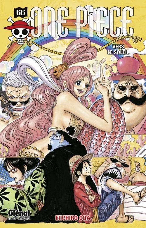 Couverture One Piece, tome 66 : Vers le soleil