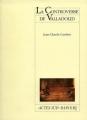 Couverture La controverse de Valladolid Editions Actes Sud 1999