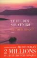 Couverture Le Fil des souvenirs Editions Les Escales 2013