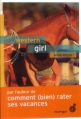 Couverture Western girl Editions du Rouergue (doAdo) 2013