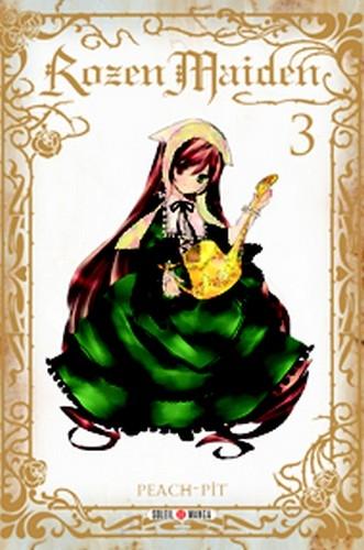 Couverture Rozen Maiden (nouvelle édition), tome 3