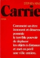 Couverture Carrie Editions Gallimard  1976