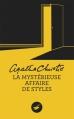 Couverture La Mystérieuse Affaire de Styles Editions du Masque 2012