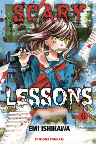 Couverture Scary Lessons, tome 06